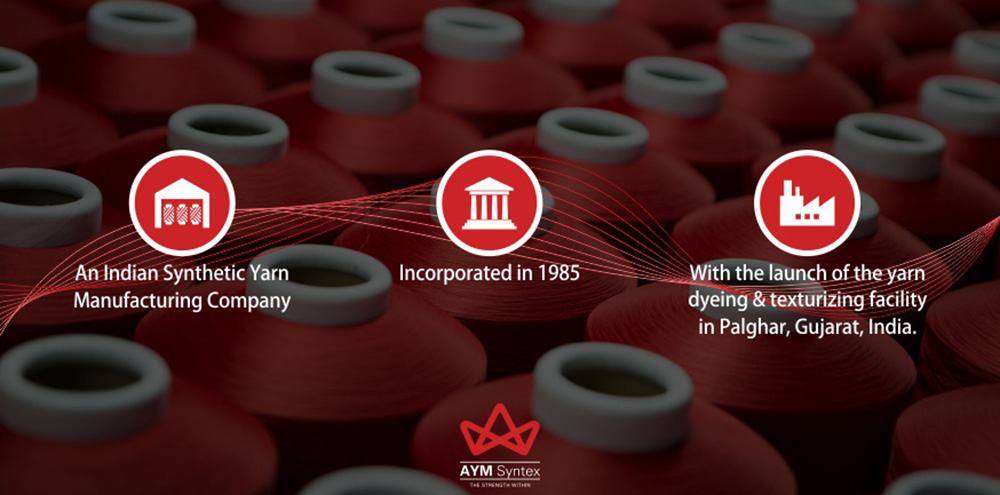 A leader in textile and synthetic yarn manufacturing, India