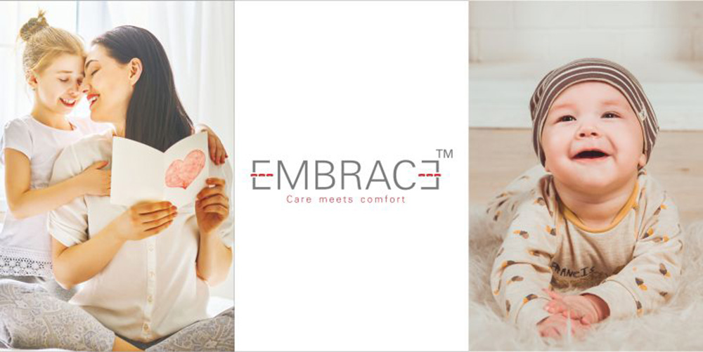 Embrace is a continuous textured twisted thread made of 100% Nylon.