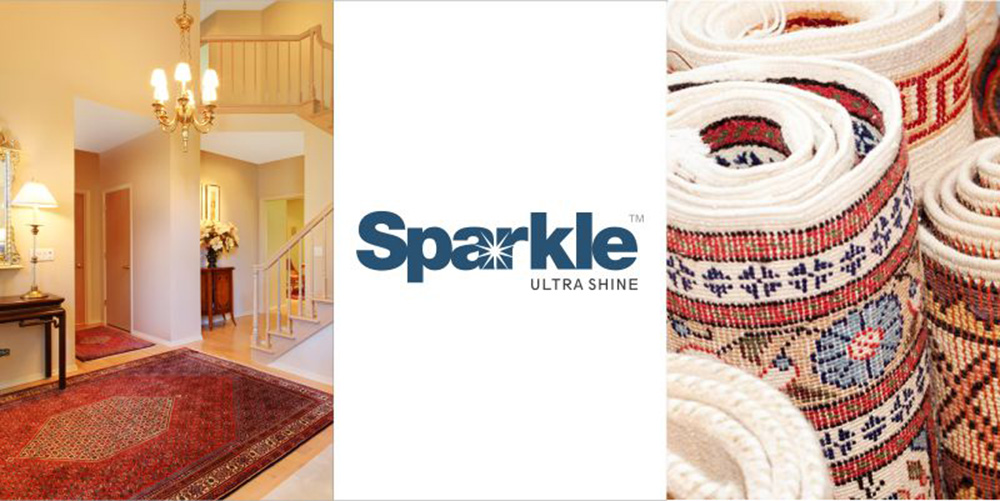 Sparkle is a lustrous bright yarn specifically developed by AYM Syntex Limited for residential carpets and rugs.