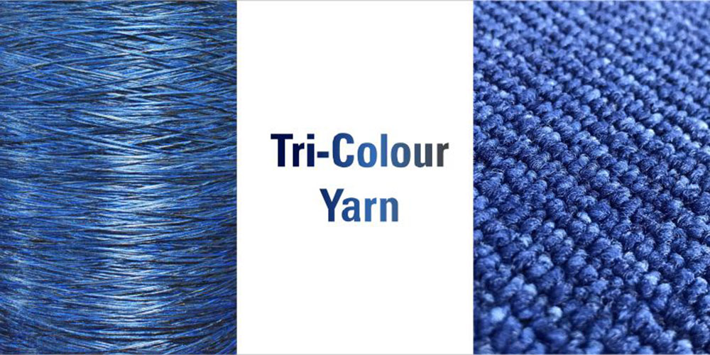 Tri-Colour Yarns by AYM Syntex Limited