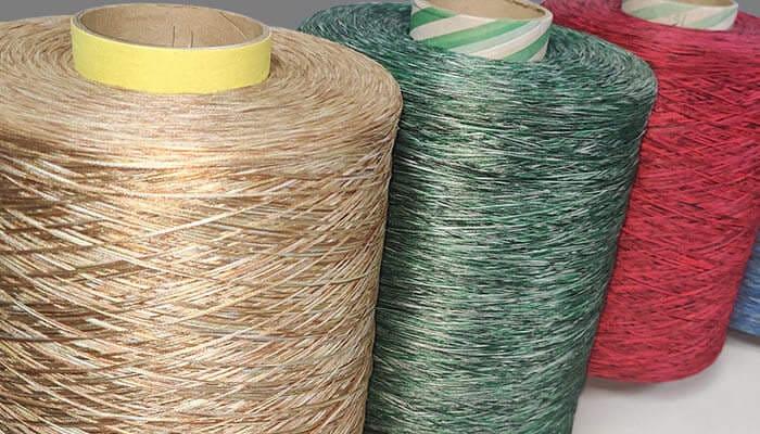 Tri color Yarns